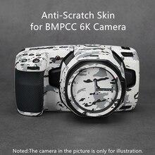 BMPCC 6K المضادة للخدش غطاء تصميم الجلد ل Blackmagic سينما الجيب 6K الجلد لصائق حامي 3M الفينيل معطف التفاف