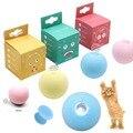 Игрушки для кошек, новый гравитационный шар, умные сенсорные звучащие игрушки, интерактивные игрушки для домашних животных, пищащие игрушк...