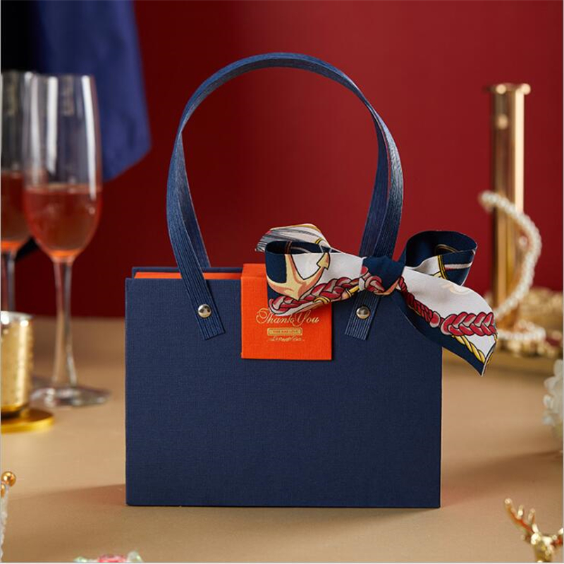 Gift Box Packaging Large Size High-grade Wedding Festive Gift Bag Party Decoration Candy Box Cosmetics Jewelry Tote Bag