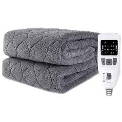 Плюшевое электрическое одеяло, электрическое одеяло, более комфортная модель, электрическое одеяло, электрический нагреватель, увеличиваю...