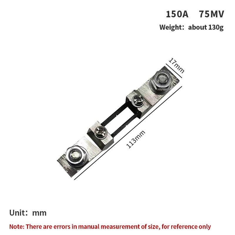 1PC FL-2 75A 100A 150A 200A /75mV External Shunt DC Current Meter Shunt resistor For Digital Ammeter amp DC amperometro Pointer