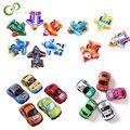 20 шт./лот мини пластиковый автомобиль, игрушки для мальчиков и девочек, детская игрушка, детский самолет, автомобиль, пластиковый Забавный Н...