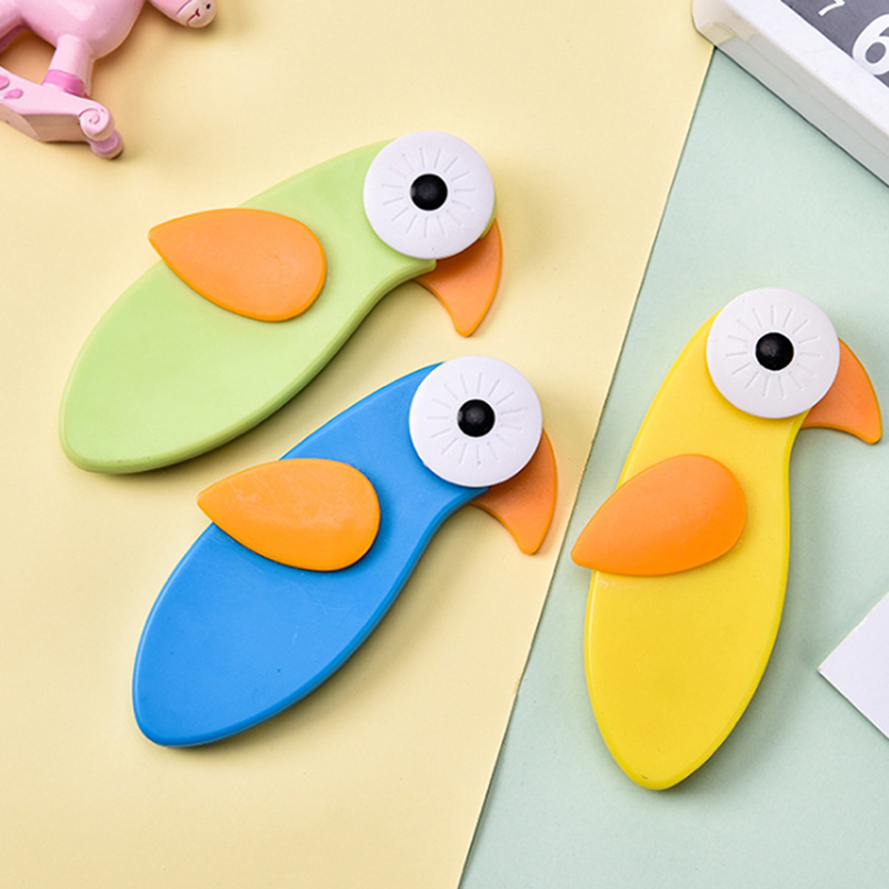Cute Cartoon Birds Baby Infant Security Lock  Safety Lock Protective Drawer Lock Baby Safe Anti-pinch Tools