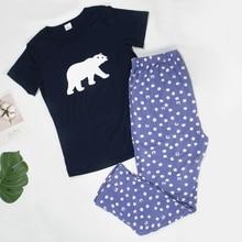 Women Sleepwear Pajama Set New Pajamas C