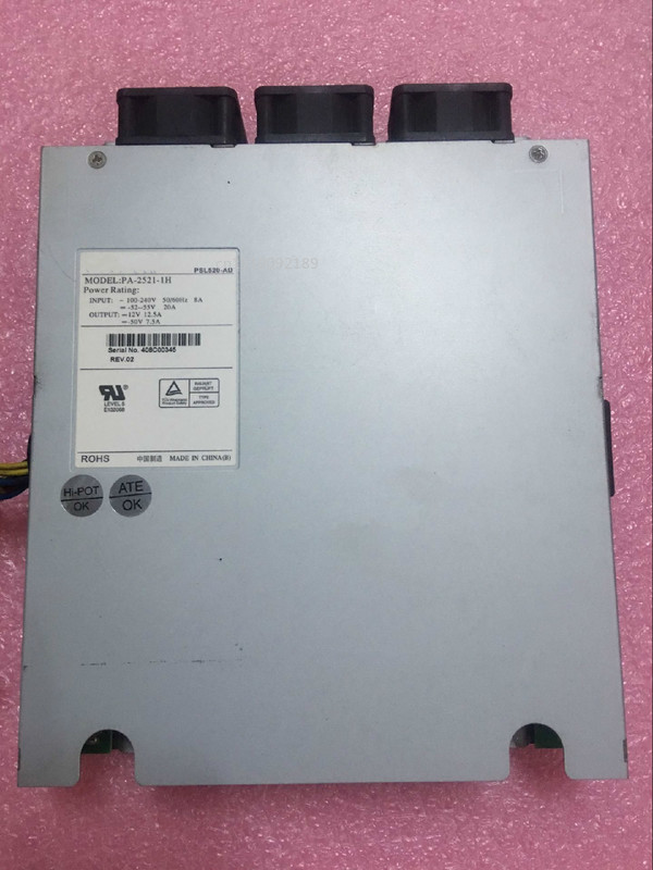 For PA-2521-1H, PSL520-AD, 409B02823 Server - Power Supply 525W PSU Server / Computer 100-240V 8A, 50/60Hz Free Shipping
