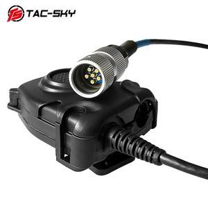 Image 4 - TAC SKY EINE/PRC 152 152a military walkie talkie modell radio military Harris virtuelle fall + militär headset ptt 6 pin PELTOR PTT
