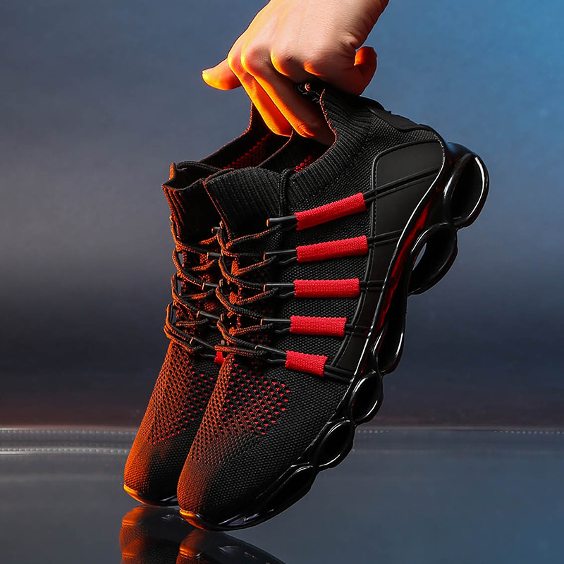 H93310cfbda5d4eb6a8ecad169daf48bcK New Fishbone Blade Shoes Fashion Sneaker Shoes for Men Plus Size 46 Comfortable Sports Men's Red Shoes Jogging Casual Shoes 48