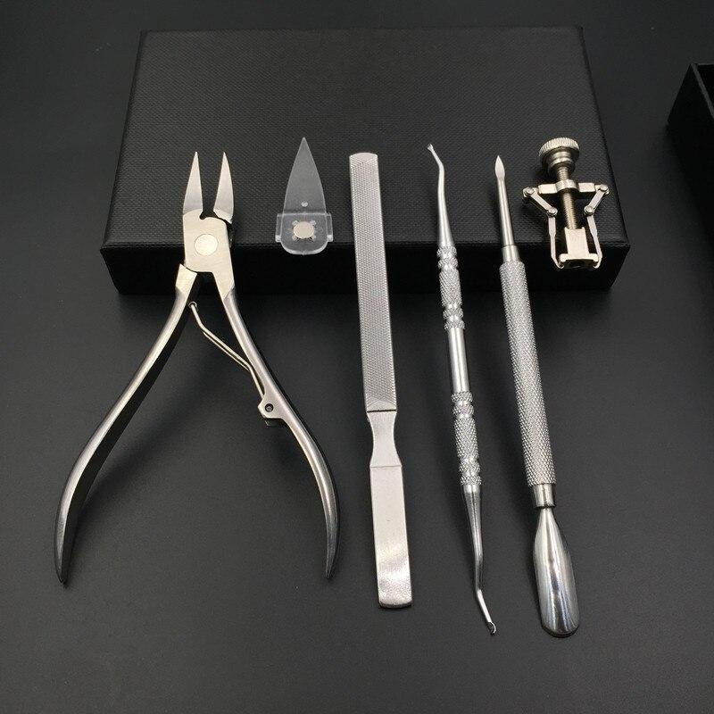 Kit removedor de cutícula cortador de unhas