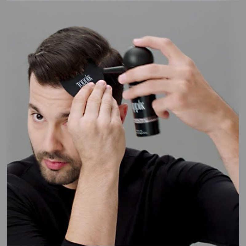 27.5 グラム toppik 髪ビル繊維と噴霧器に強化ケラチン毛髪繊維間伐脱毛治療