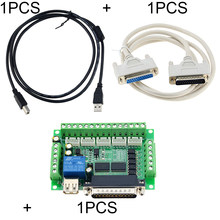 3PCS/SET 1PCS MACH3 Control board+ USB Cable+LPT Cable 5 Axis CNC Interface Adapter Breakout Board For Stepper Motor Driver(China)