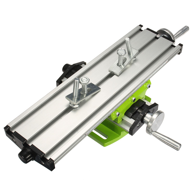 Multifunction Worktable Milling Working Table Milling Machine Desk Drill Vise Adjustment Coordinate Table|Milling Machine| |  - title=