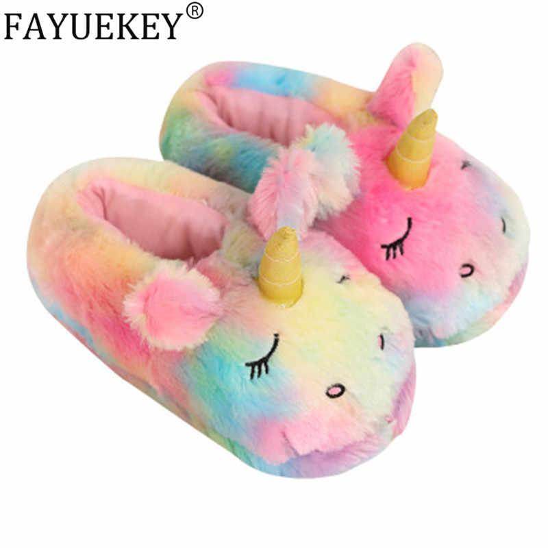 FAYUEKEY Women Cartoon Rainbow Unicorn