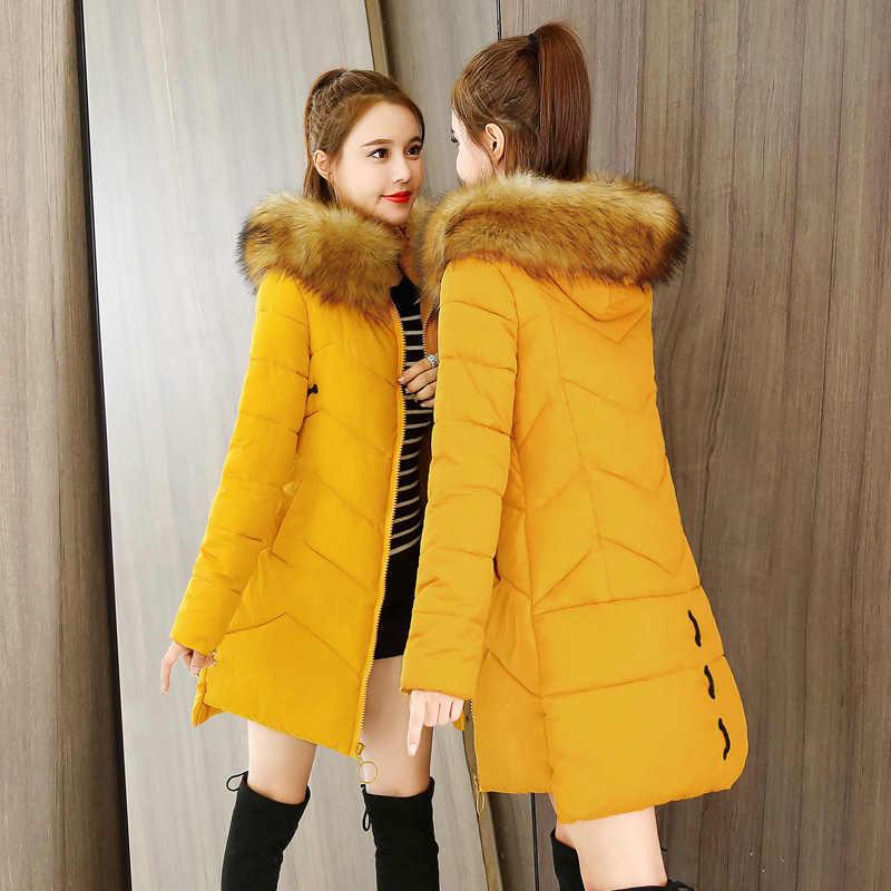 Down Jacket Coat Parka Cotton Winter Hooded Long Women/'s Ultralight Warm Padded