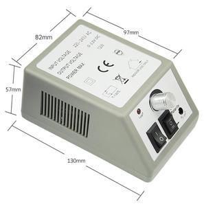 Image 3 - プロフェッショナル電気マニキュアセットプロドリルネイルファイルビットマニキュアマシン電動爪やすりセラミックネイルデコレーション