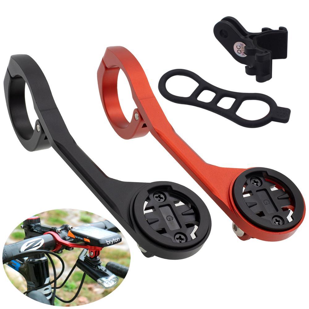 Bicicleta computador odômetro suporte sem fio estendido camara suporte de montagem guiador velocímetro para garmin edge1000 gopro