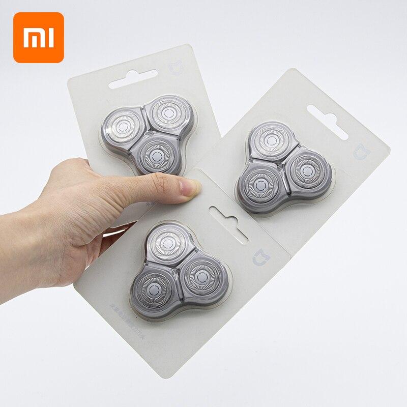 شاومي Mijia استبدال ماكينة حلاقة رئيس شفرة الحلاقة من شاومي S500 ماكينة حلاقة كهربائية