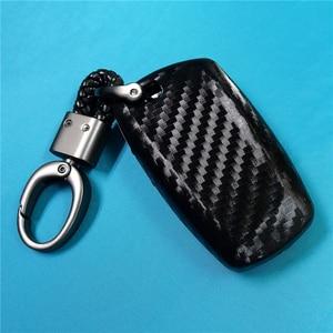 Image 2 - Coque de protection pour clé de voiture en Fiber de carbone, pour Bmw série X1 X3 X4 X5 X6 M3 M5 Z4 F20 F30 F10 E90 E60 E30