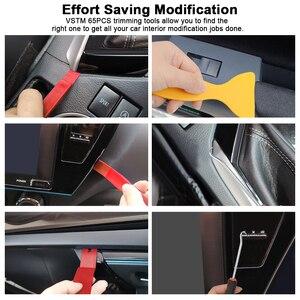 Image 5 - Kit de mantenimiento de embellecedor para automóvil, extractor de panel de reparación de molduras automático, barra de palanca, tablero de radio de coche, herramienta de mano para moldura de puerta, el mejor de 2020