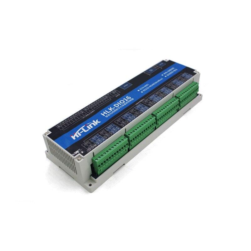 16 채널 디지털 io wifi 릴레이 모듈/무선 원격 제어 lan wan 지원 modbus 스마트 홈 릴레이 스위치