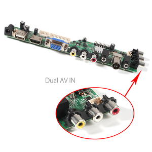 Image 5 - Aokin חדש דיגיטלי אות 3663 DVB C DVB T2 DVB T אוניברסלי LCD טלוויזיה בקר נהג לוח 3463A רוסית USB לשחק LUA63A8