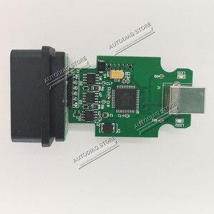 Image 2 - 5 шт./лот электрические тестеры общие OBDII 16Pin диагностический интерфейс 2nd ATMEGA162 + 16V8B + FT232RQ SKU:2nd Multi 189