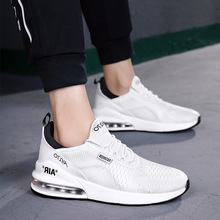 Foreign Trade Summer Stylish Fly Woven Line Breathable Sports Casual Shoes Korean-style Trendy L Men Runni