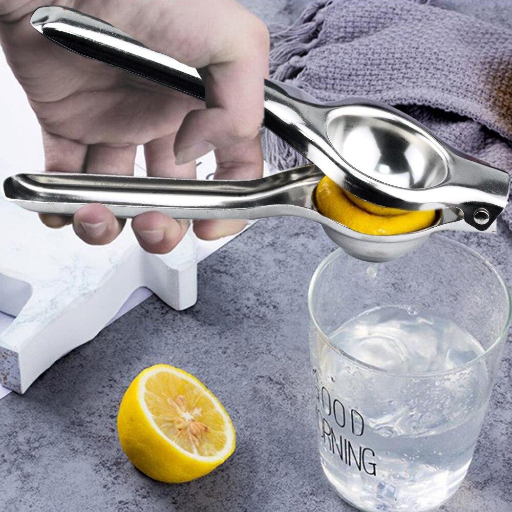 Mutfak gereçleri limon sıkacağı paslanmaz çelik turuncu sıkacağı meyve suyu raybalar hızlı kolu basın çok fonksiyonlu alet