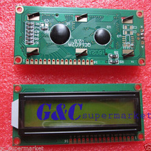 Module Breadboard Lcd-Display LCM 16x2 HD44780 1602 Character Yellow Electronics Backlight