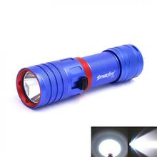 SKYWOLFEYE DV04 LED Waterproof Flashlight Portable 850LM XM-L2 U2 LED Torch Light Scuba 50m Underwater Diving Lamp все цены