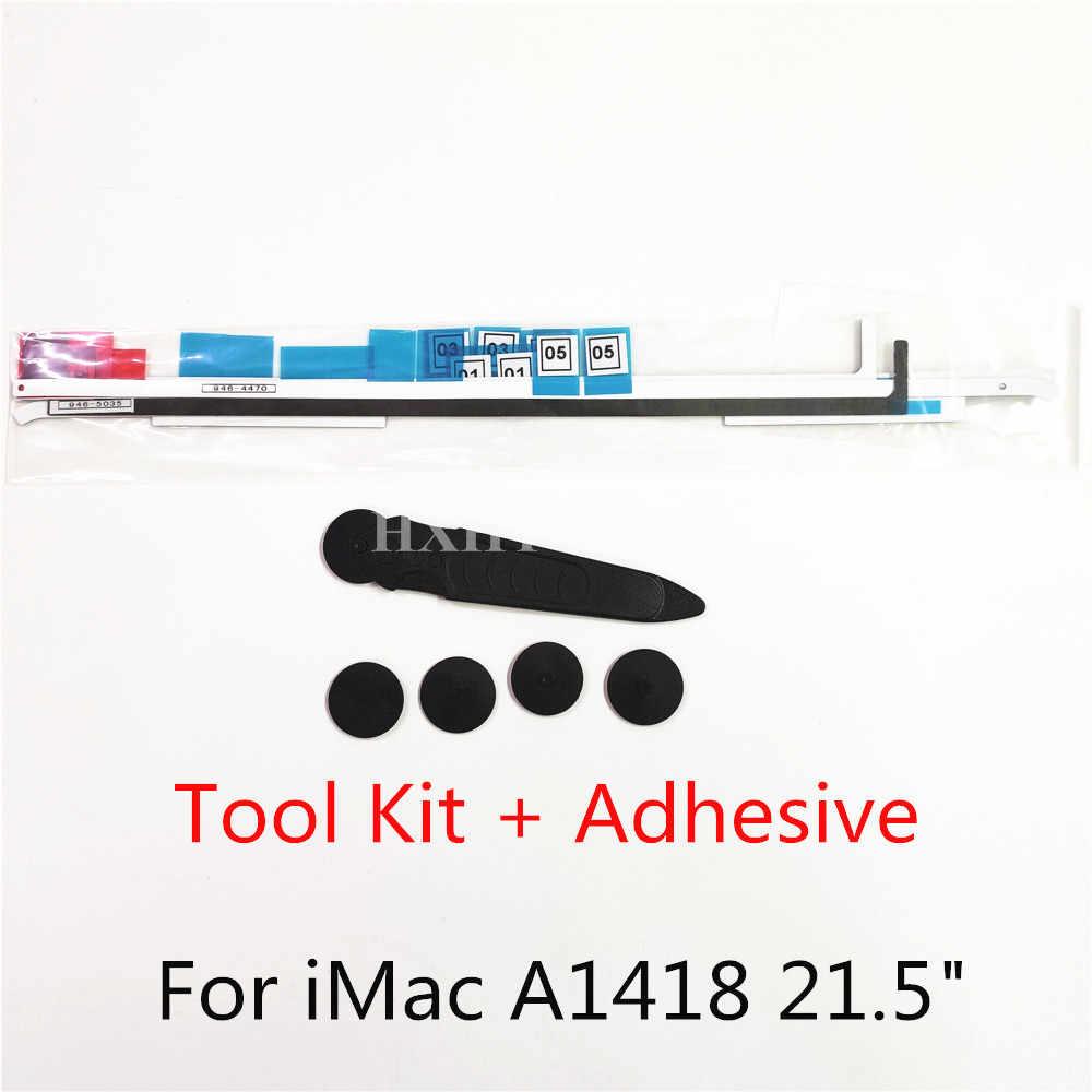 """جديد A1418 LCD شاشة لاصق قطاع ل iMac A1418 21.5 """"شاشة الكريستال السائل لاصق قطاع لاصق الشريط وأدوات طقم تصليح 2012-2017"""