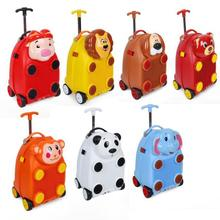 kids trolley luggage for boys kids rolling suitcase luggage trunk for travel bag wheels children travel trolley case for kids