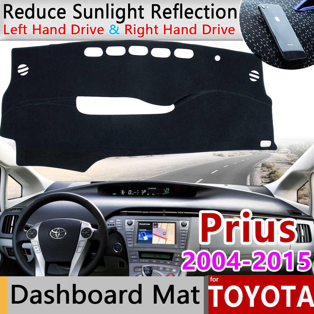 Grey Dashmat for TOYOTA Prius ZVW30 1//2009 on Dash Mat DM1158
