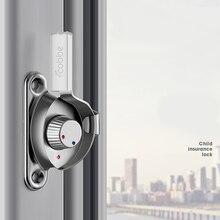 Buckle Window-Lock Window-Hardware-Accessories Door And Safety-Lock Crescent Stainless-Steel