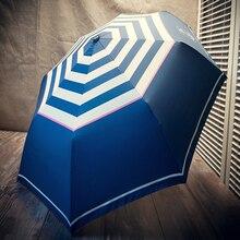 Folding Umbrellas Automatic Umbrella Inside And Outside Sun Rain Women Strong Windproof Anti-UV