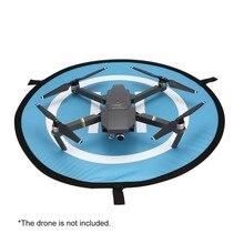 55cm Fast fold Landing Pad FPV Drone Parking Apron Foldable Pad For DJI Spark Mavic Pro