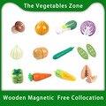 Игрушка Woo для детей, игрушки для резки овощей, Имитация деревянной резки, игрушка для приготовления пищи, ролевая игра, игрушка для кухни, по...