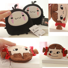11CM new mini plush wallet small gift bag cartoon child girl