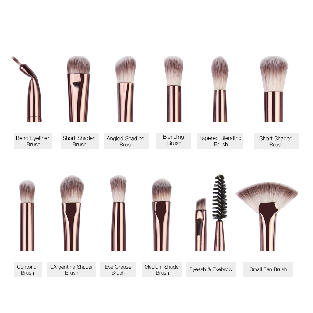 MAANGE Pro Makeup Brushes Set Eyeshadow Eyeliner  5