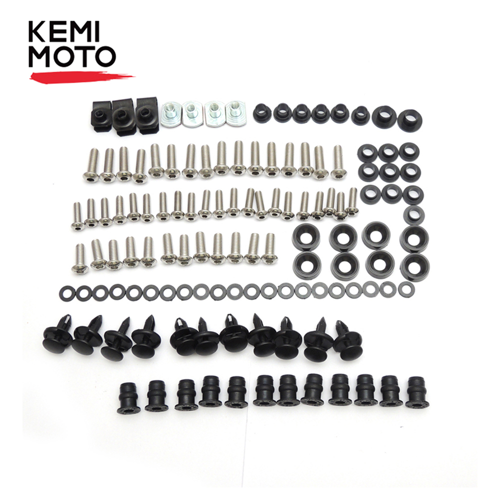 For Honda CBR600RR Fairing Bolt Screw Fastener Fixation For Honda CBR600RR CBR 600RR 2003 2004 2005 2006 Complete Kit