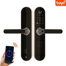 Fingerprint Lock Smart Password Digital Lock Electronic Door Lock Home Safe Tuya Anti-Peeping Smart Biometric Door L0ck Wifi