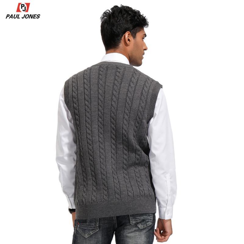 Men Cardigan Cotton Blend Knitting Sweater Formal Casual V Neck Single Breasted