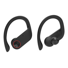 Sports Bluetooth Portable Noise Reduction Music Hands Free Wireless Earphone Stereo Sweatproof HIFI Running Earhook Adjustable(China)