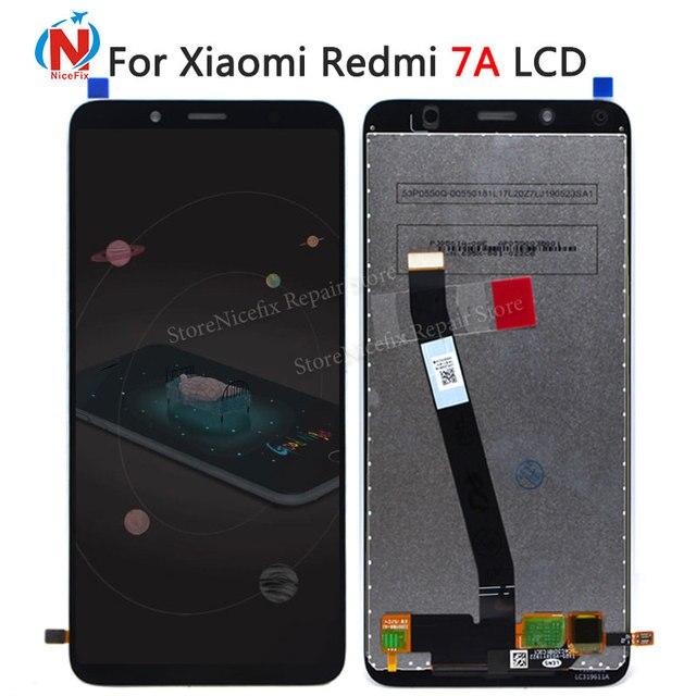 Original para Xiaomi Redmi 7A LCD pantalla táctil digitalizador montaje con herramientas Redplacement piezas de reparación para Redmi 7a LCD