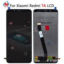 Oryginalny dla Xiaomi Redmi 7A wyświetlacz LCD ekran dotykowy Digitizer zgromadzenia z narzędzia Redplacement części naprawa dla Redmi 7a LCD