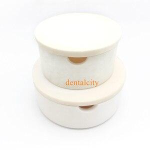 Image 5 - New Dental Lab CAD smeltkroes voor zirconia kronen gesinterde smeltkroes dental Smeltkroes met cover ronde vorm holding kralen in oven