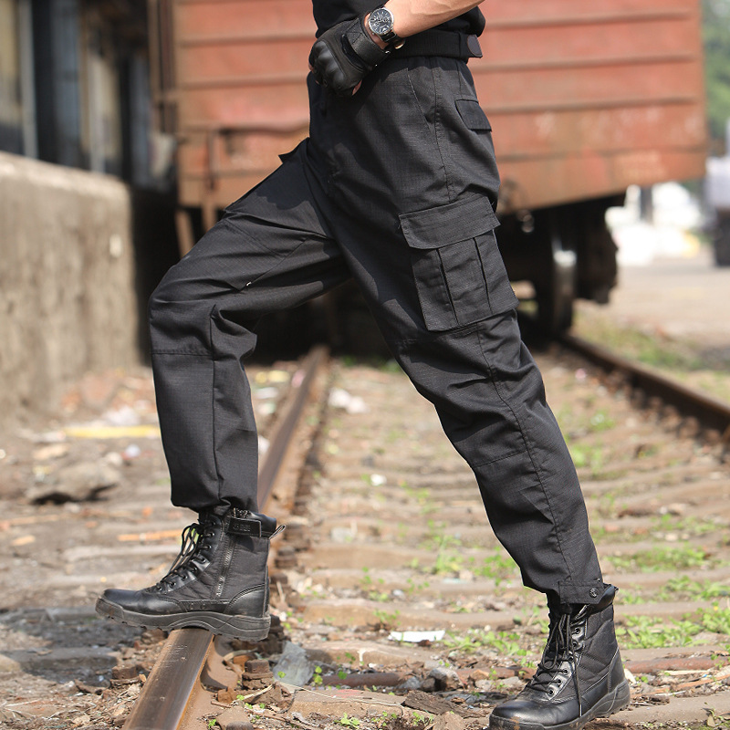 Tactical Pants Wear-Resistant Training Pants City Tactical Trousers Secret Service Pants 511 Special Forces Army Fans Bib Overal