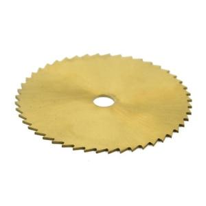 Image 3 - 1pc 50mm 60mm 80mm Wood Circular Saw Blade For Dremel Rotay Tools 6.35 and 6 mm Hole Cutting Discs Mandrel Cutoff Mini Saw Blade