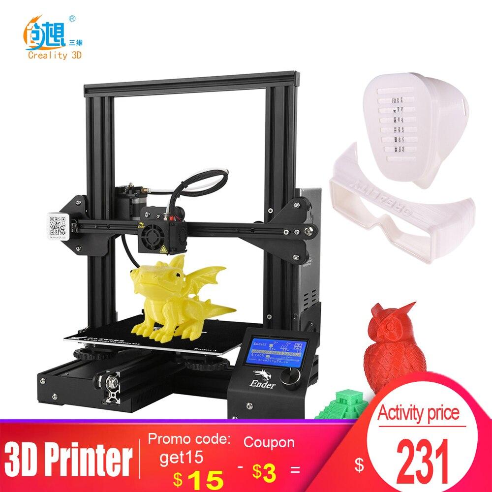 Ender 3 /Ender 3 Pro 3D принтер DIY Kit 3D принтер большого размера I3 мини принтер для сбоя питания ender 3 impresora 3D|3D принтеры|   | АлиЭкспресс