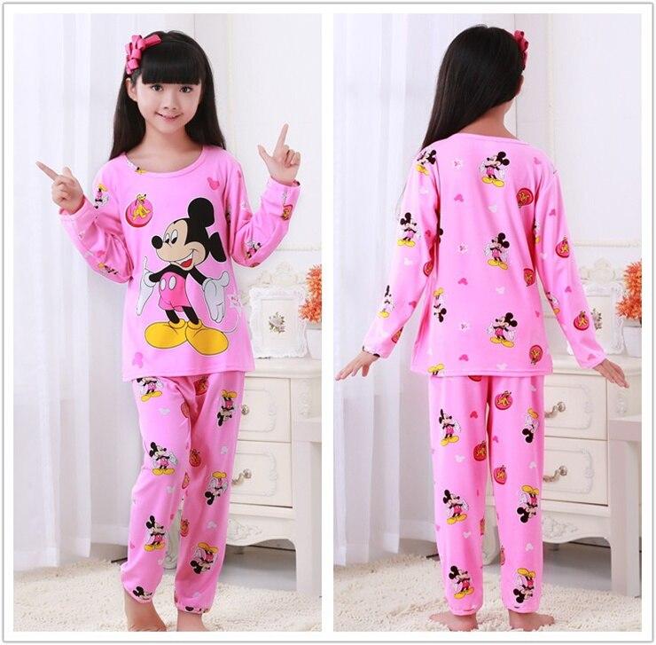 Frühling Sommer Kinder Pyjamas Langarm Cartoon Kinder Catamite Mädchen Kleidung Anzug Schöne kinder Pyjamas Boy Haus Kleidung