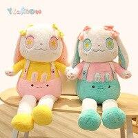 Yeaknow 110cm Cartoon Rabbit Plush Toy Cute Stuffed Animal Plush Soft Toys Kids Reading Pillow Doll Creative Kids Birthday Gift